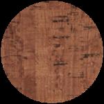 Cover Material Cork Grain Chestnut