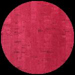 Cover Material Cork Grain Red