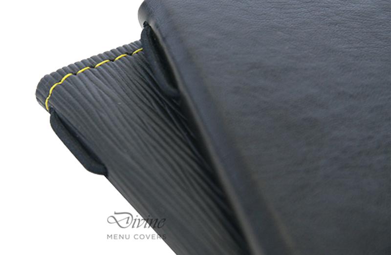 Elastic Braid Hardcover Menu