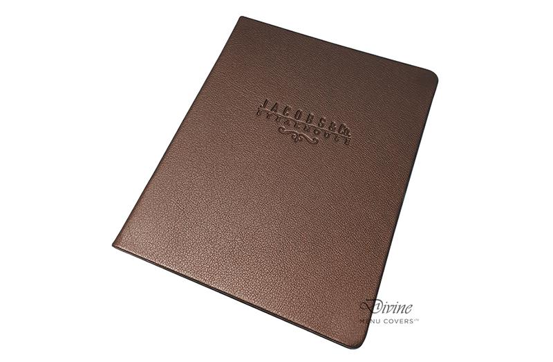 Genuine Leather Menu