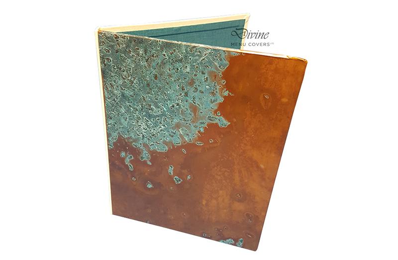 Genuine Copper Metal Menu