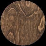 Cover Material Natural Wood Dark Brown
