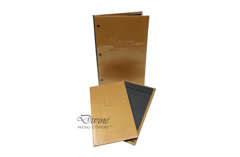 Genuine Copper Cover With Embossed Logo