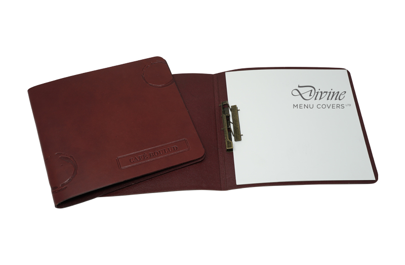 Genuine Leather Flexible Cover With Clip