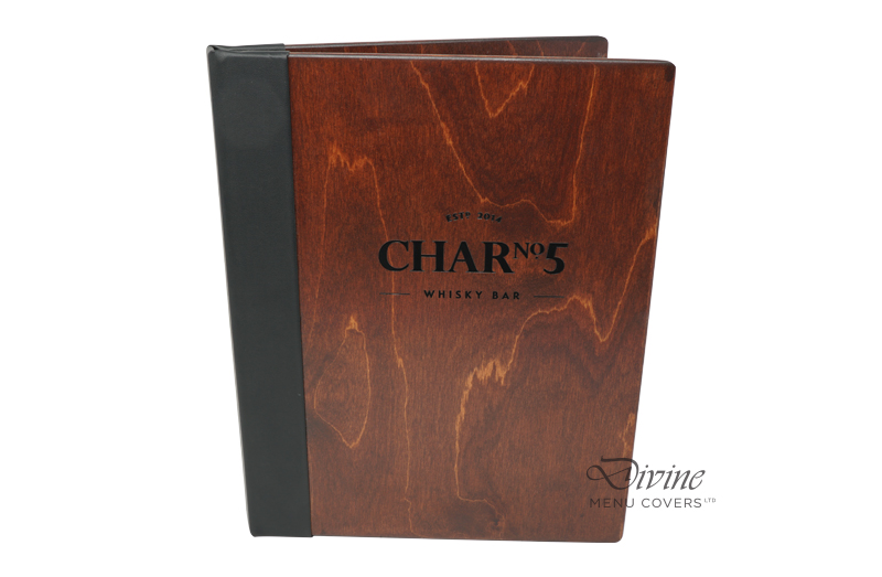 Genuine Wood Front Cover